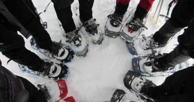 Larch Hills Snowshoeing